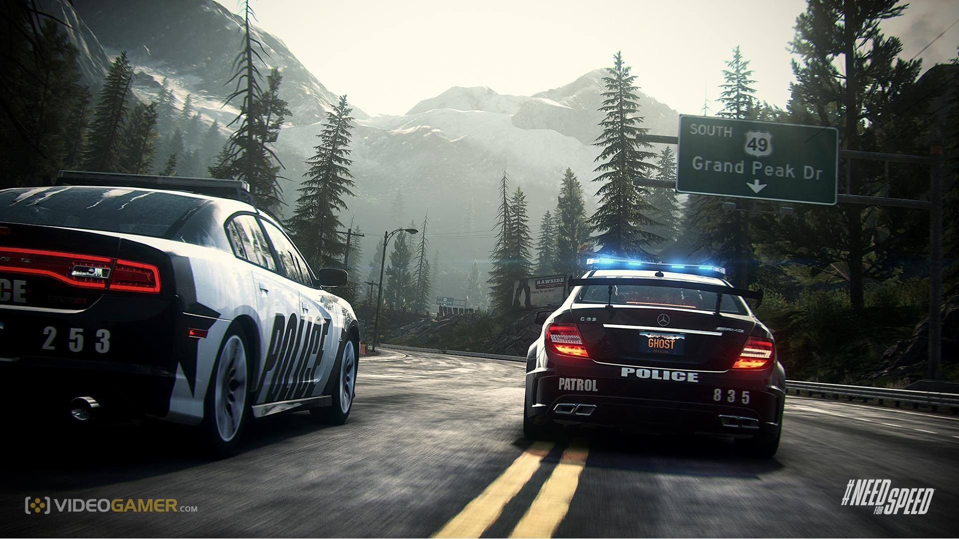 Wallpaper Police Cars The Game NFS Rivals