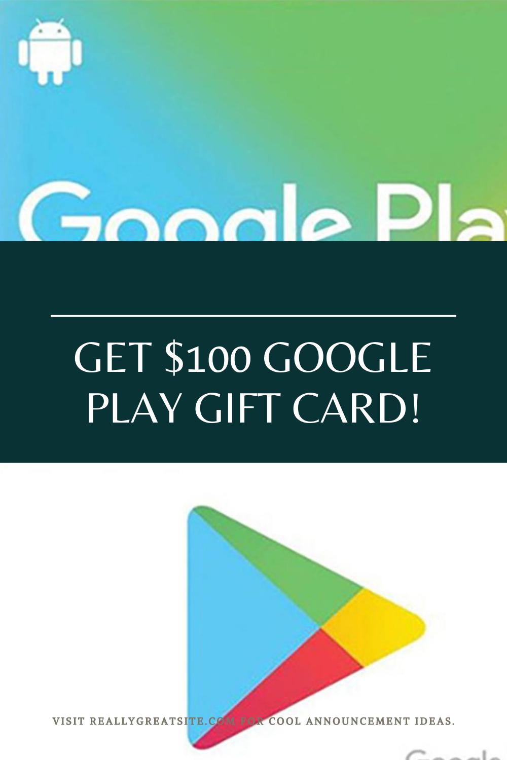 Get 100 Google Play Gift Card Google Play Gift Card Free Gift Cards Mastercard Gift Card