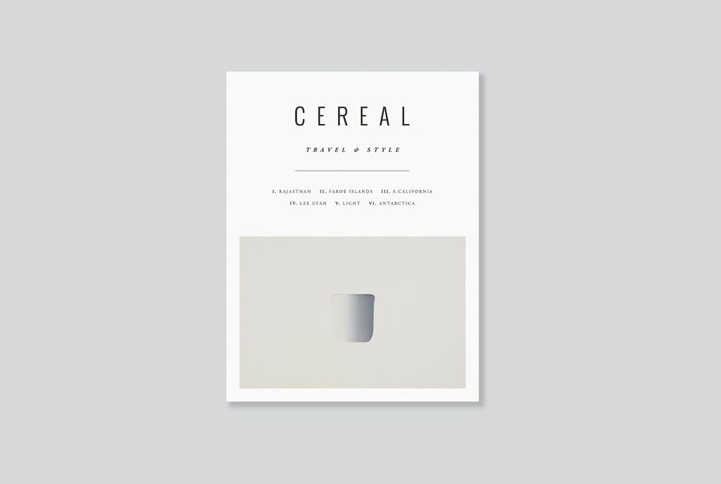A limited Lee Ufan cover edition of Cereal Volume 12 | now available on shop.readcereal.com