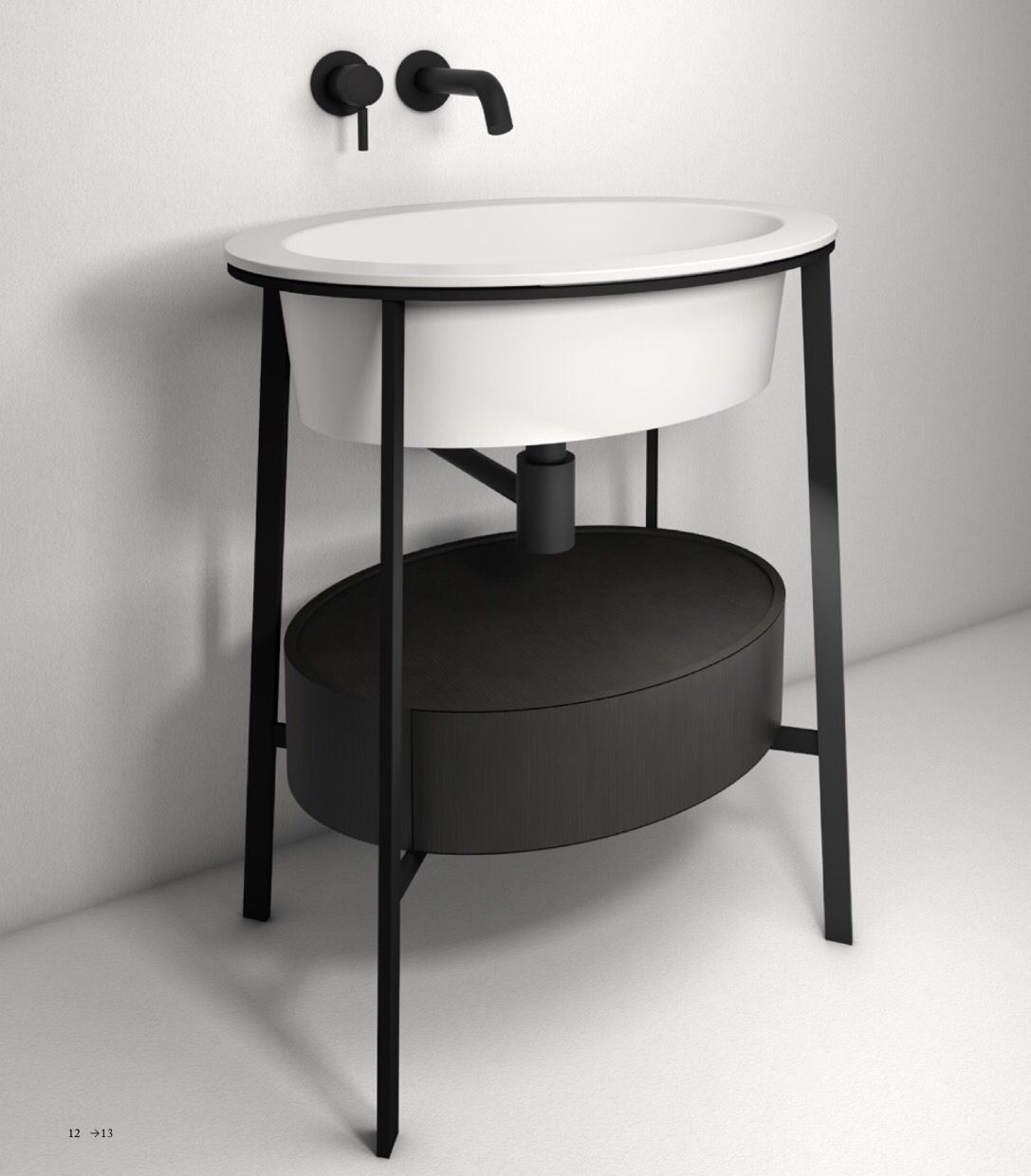 catino bathroom collection by cielo made up of a ceramic washbasin in theu2026