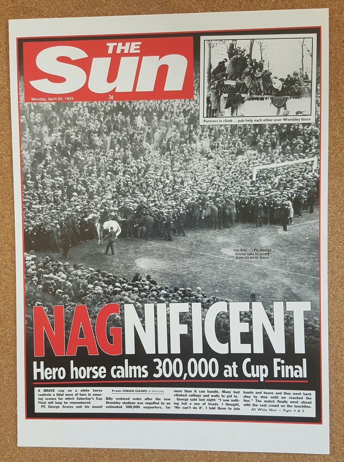 Misc The Sun Newspaper Famous Event Headlines Single