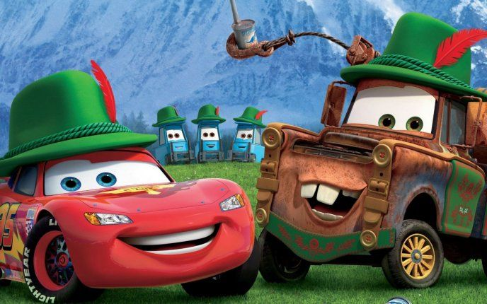 Famous Cars Lightning Mcqueen And Mater Free Image Download