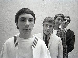 Keith Moon, Roger Daltrey, Pete Townshend and John Entwistle