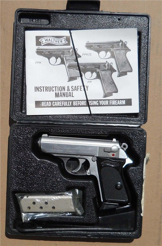 walther ppk 380 acp stainless interarms excellent concealed carry rh pinterest com Walther PPK S Walther PPK 9Mm