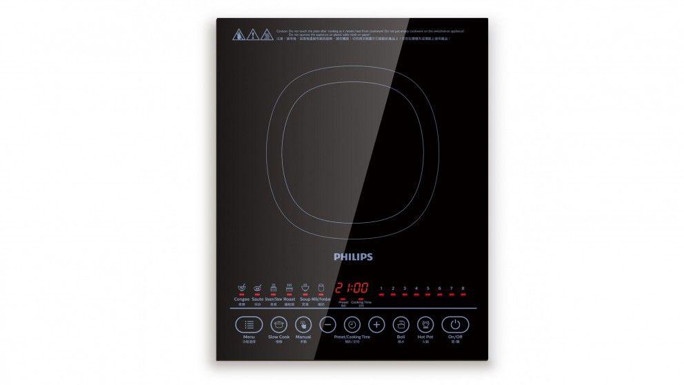 Philips 2100W Portable Induction Cooktop - Cooktops - Appliances - Kitchen Appliances | Harvey Norman Australia