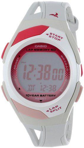[カシオ]CASIO 腕時計 PHYS フィズ ランナーウォッチ LAP MEMORY60 TOUGH BATTERY10 STR-300-7 ピンク[逆輸入]