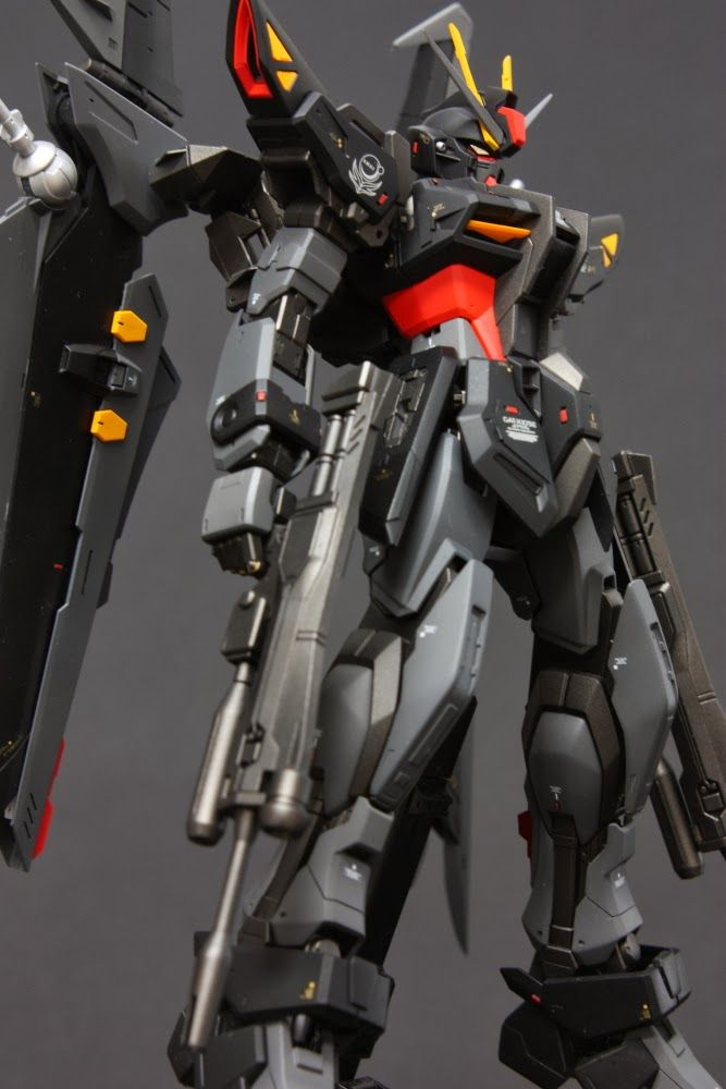 MG 1/100 GAT-X105E Strike Noir - Customized Build | Gundam | Pinterest