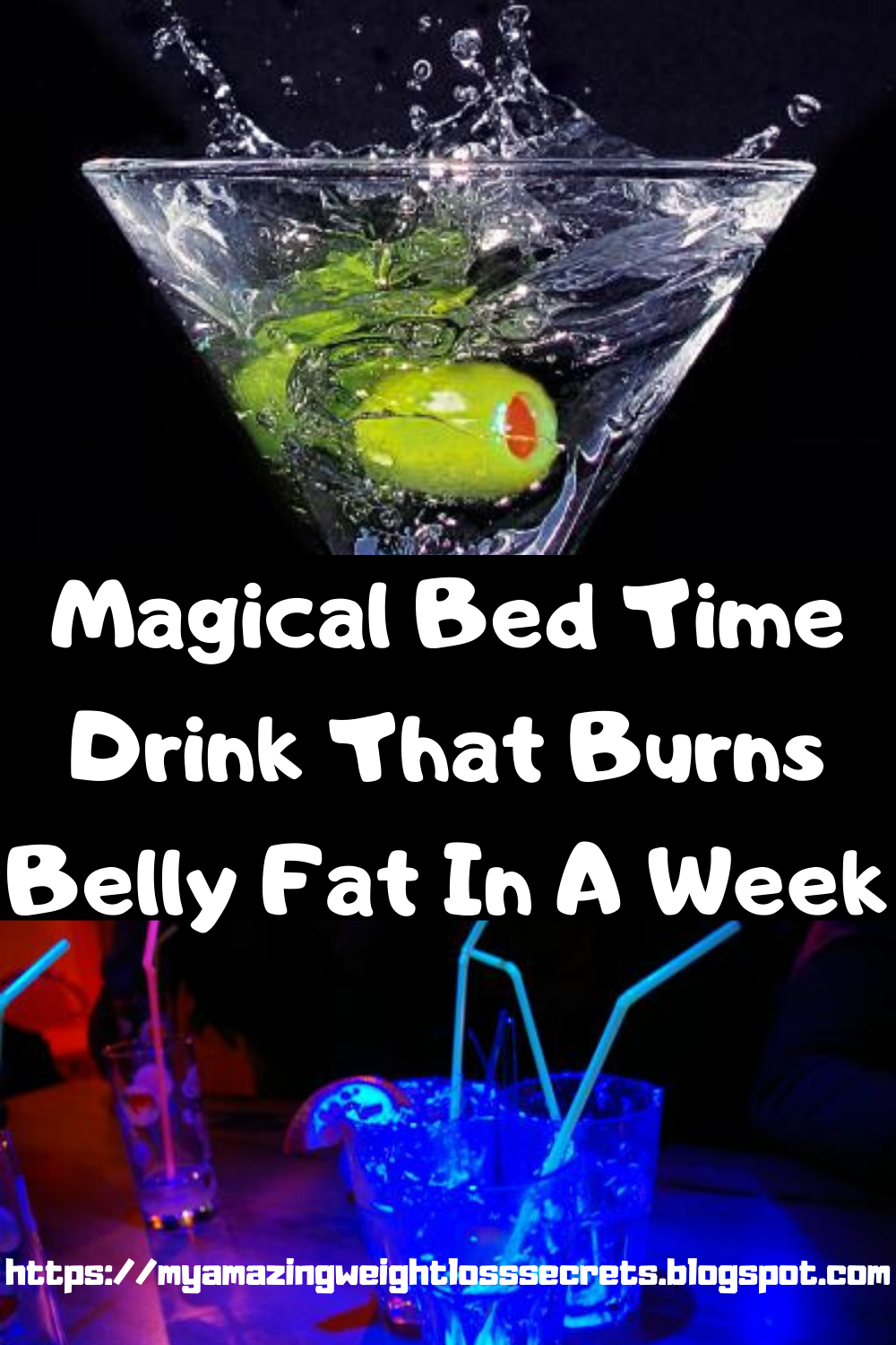 Magical Bedtime Drink That Burns Belly fat In A Week