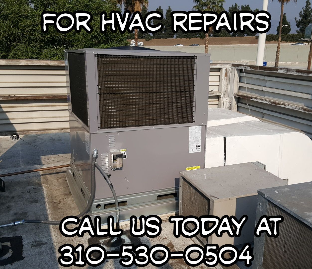 Commercial Carrier Roof Top Gas/Electric Unit Heating