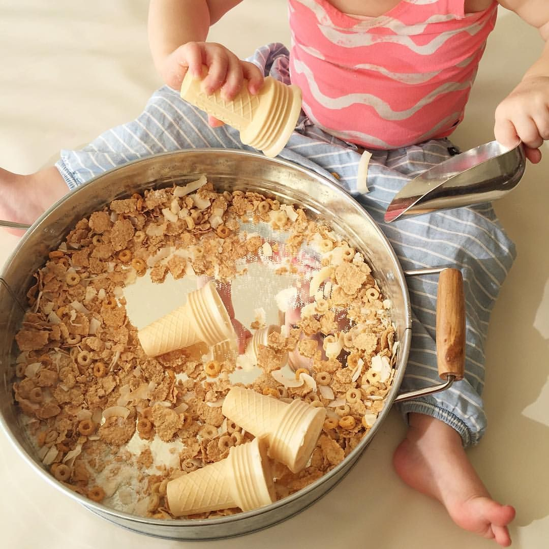 Taste Safe Sensory Exploration For Toddlers With Dry