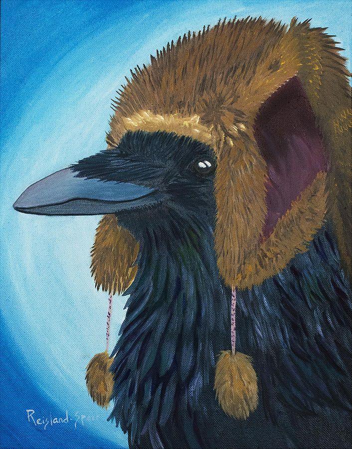 Nice Hat By Amy Reisland Speer Animal Art Animal Paintings Crows Art