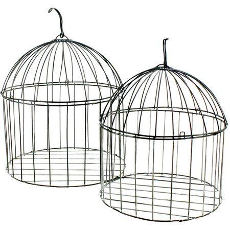 Birdcage Décor Set