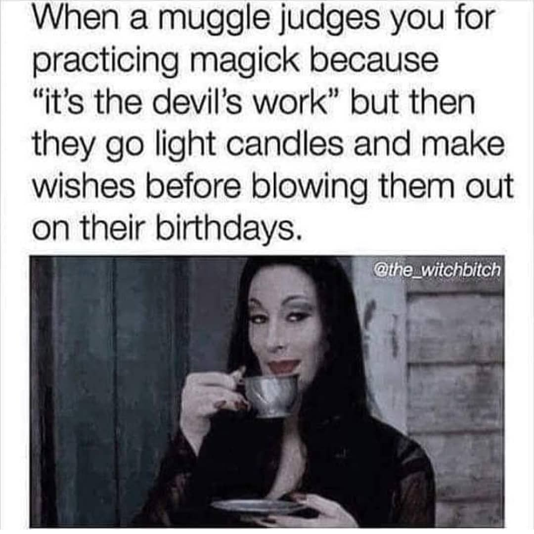 Pin By Lepella On Witchy In 2020 Witch Meme Funny Spiritual