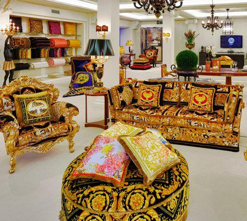versace home furnishings | Versace Home | If I had an apartment ...