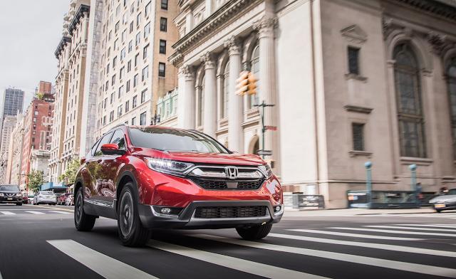 Honda Cr V Named 2018 Motor Trend Suv Of The Year