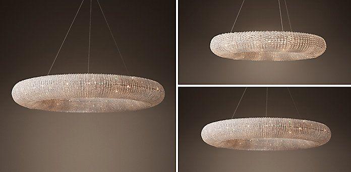 crystal halo saturn matte natural restoration hardware