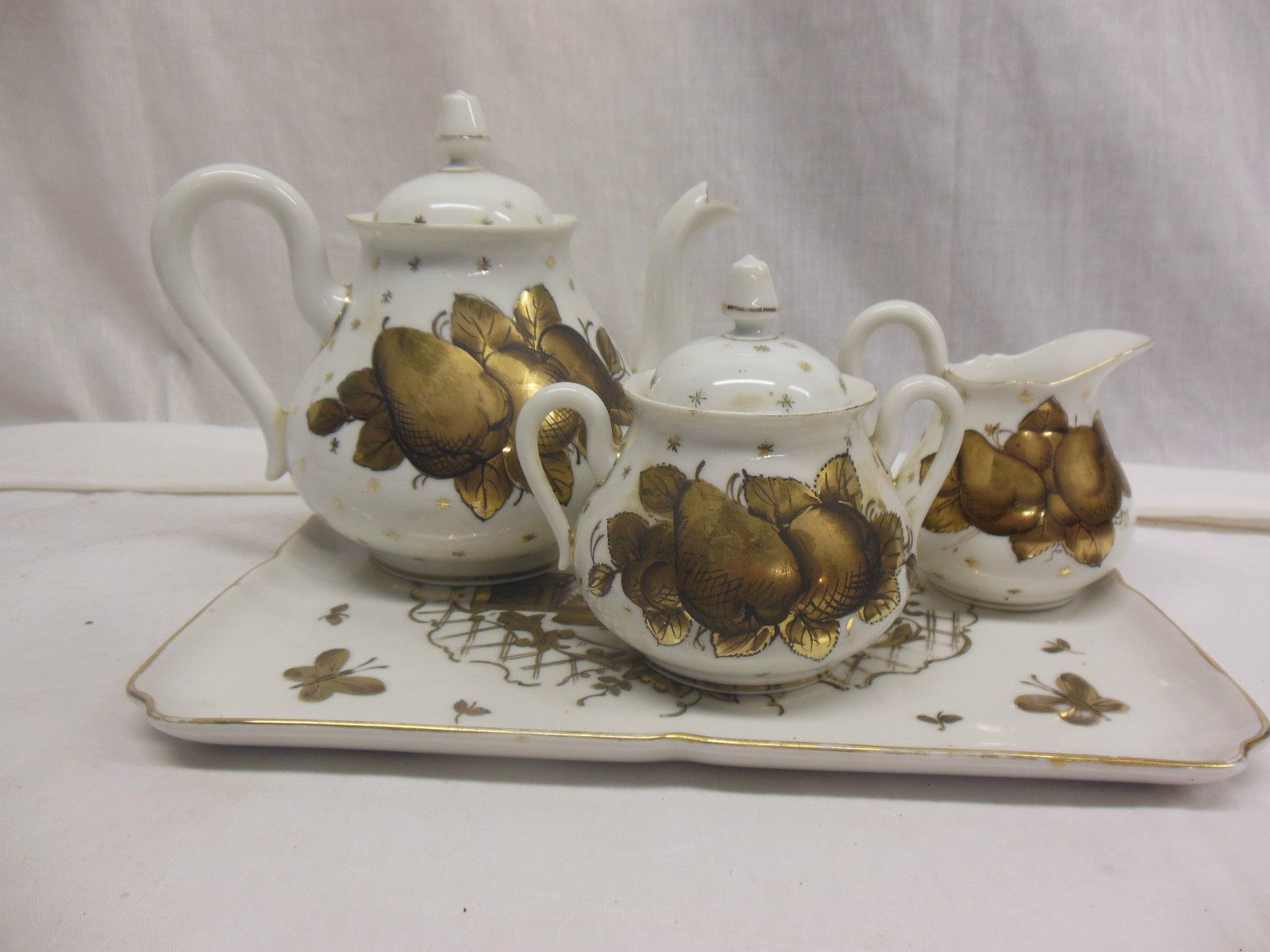 Limoges Porcelain (France) U2014 Tea Set (1600x1200)