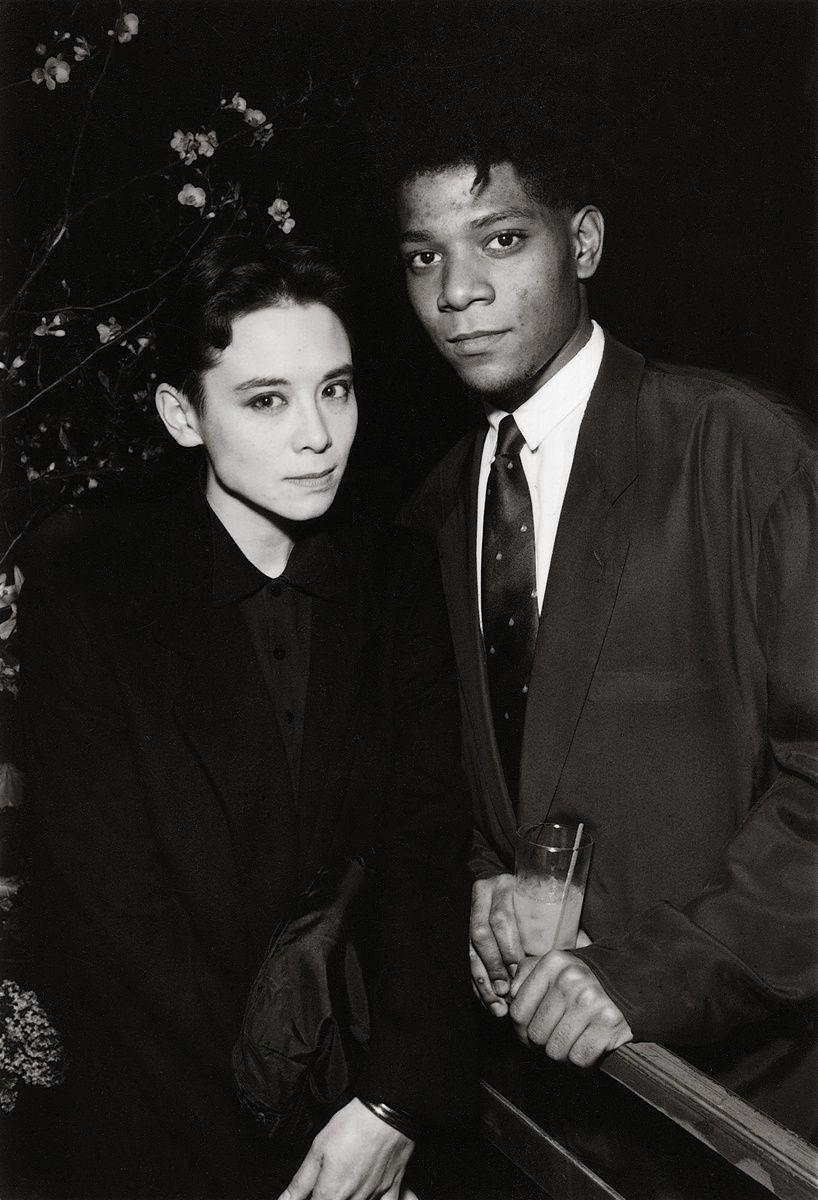 Tina Chow and Jean-Michel Basquiat. Photo Patrick McMullan