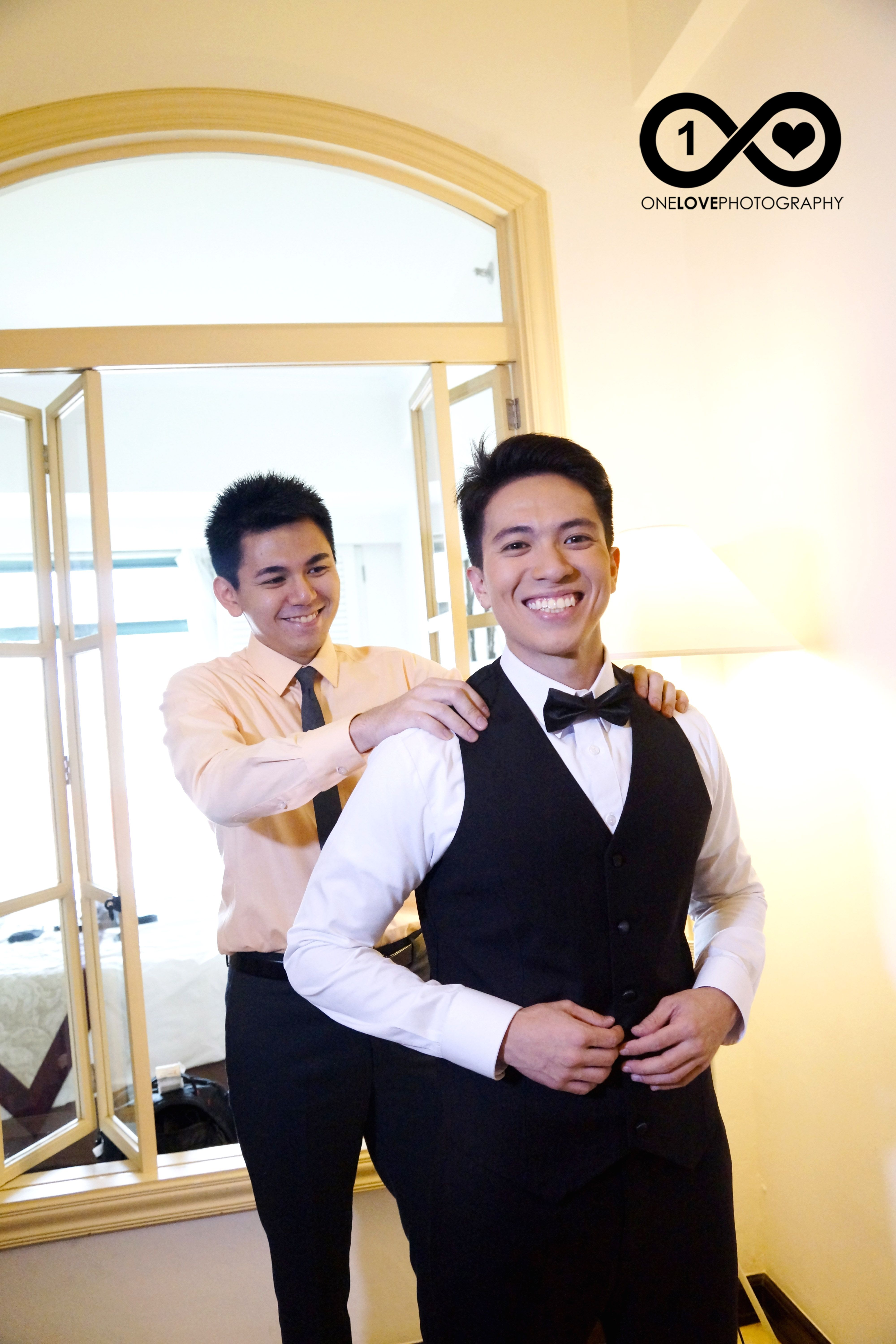 A little bit of childhood that can never be lost...that's my brother!  #onelovephotographyph, #oneloveph, #weddingpreparation