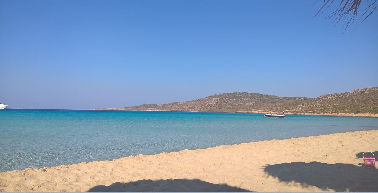 Megalos Simos Beach - Crystal Clear Blue Water