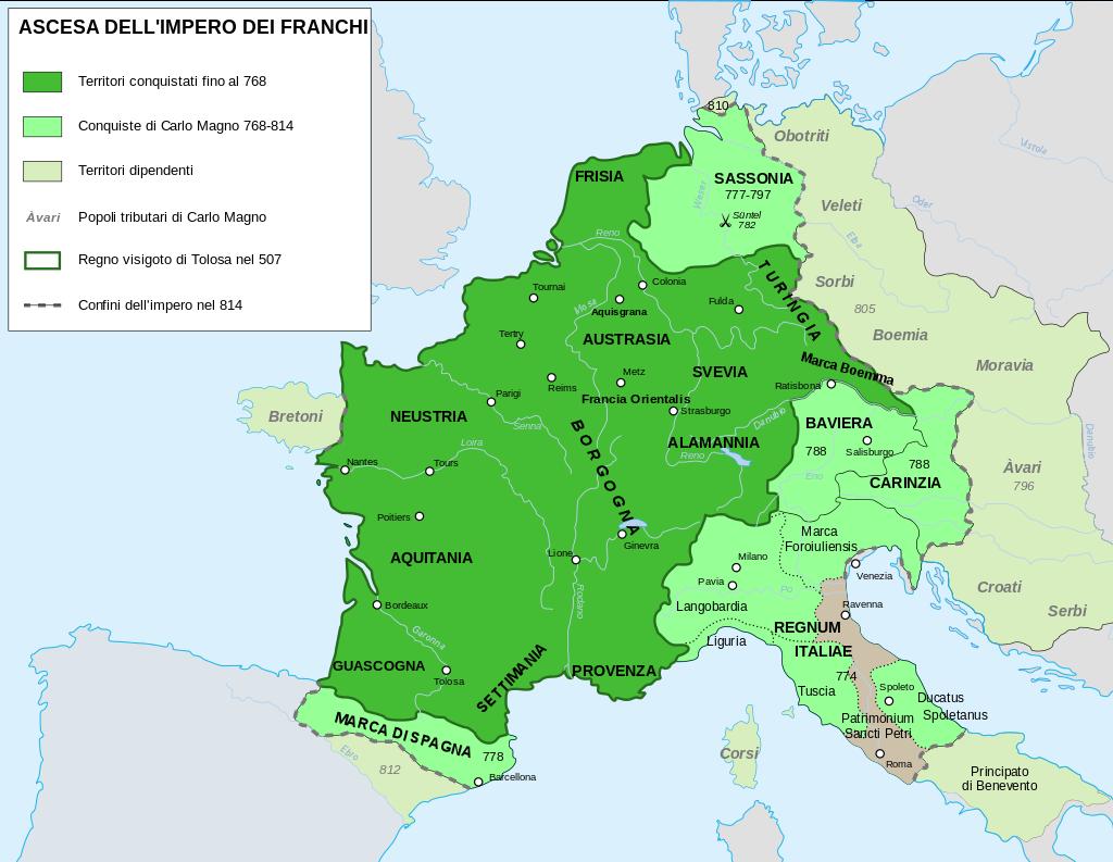 Gli Arcani Supremi (Vox clamantis in deserto - Gothian): L'Impero Carolingio