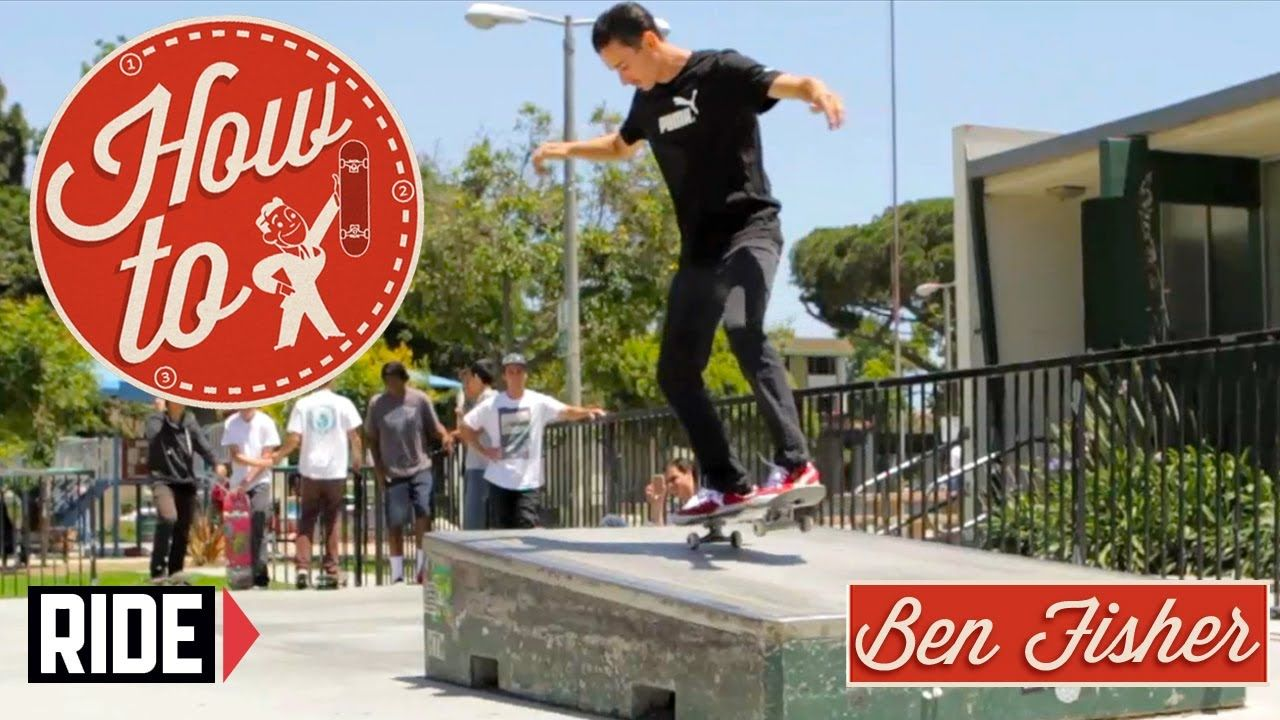 Howto skateboarding switch nose manuals with ben fisher
