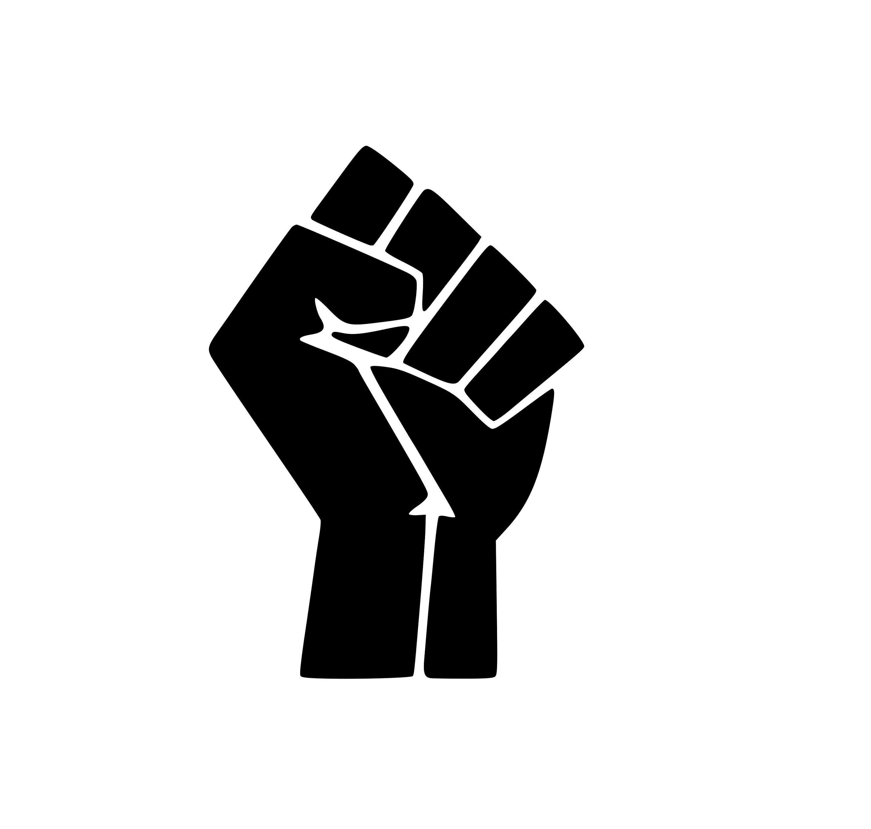Black Power Raised Fist Svg File Silhouette Cricut Svg Svg Files Silhouette Raised Fist