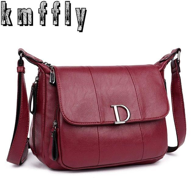 c8746e2730fc 2018 Large Capacity Women Messenger Bags and Letter D Women Bags Shoulder  Tote Bags bolsos Famous Designers Leather Handbags Sac Review