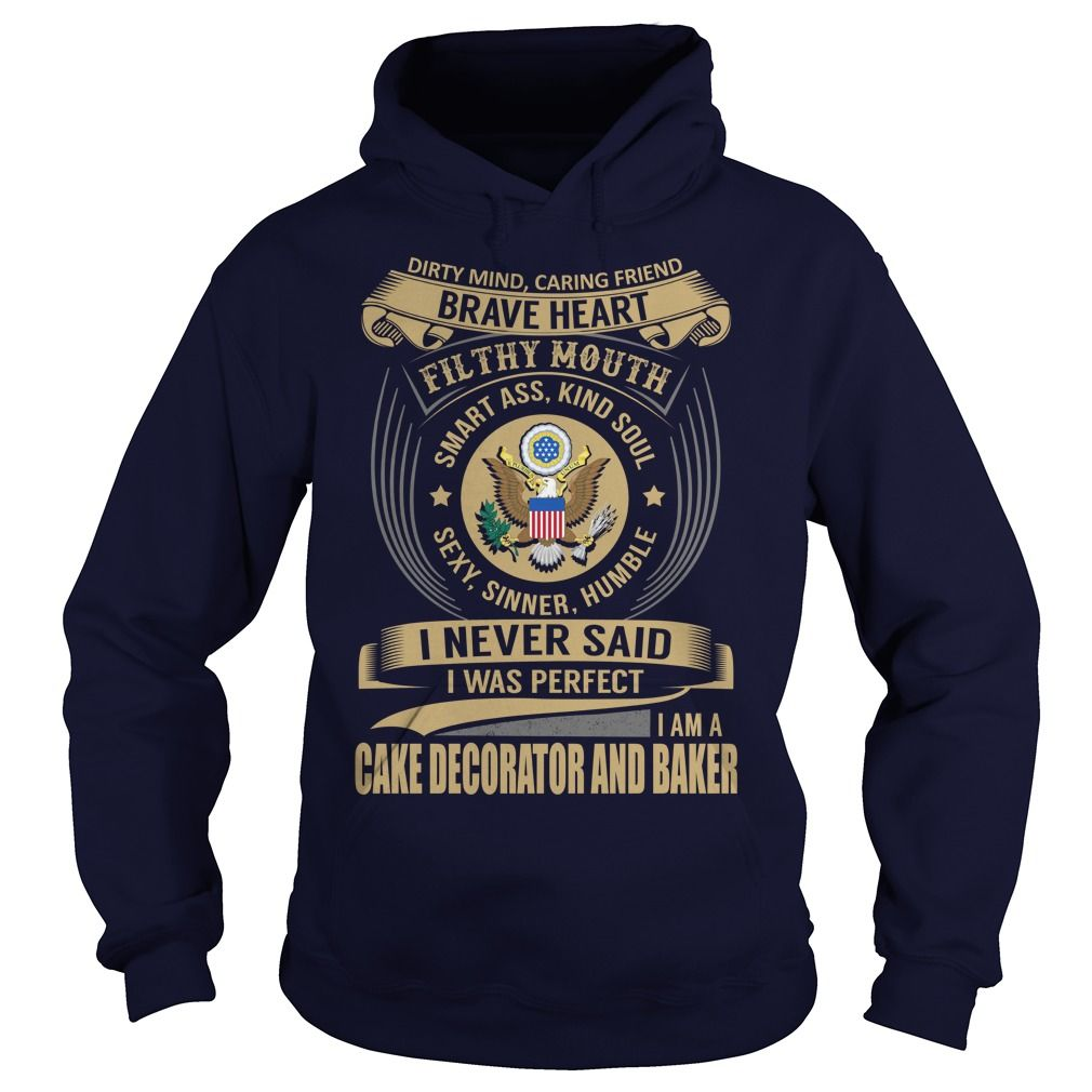 Cake Decorator and Baker We Do Precision Guess Work Knowledge T-Shirts, Hoodies. ADD TO CART ==► https://www.sunfrog.com/Jobs/Cake-Decorator-and-Baker--Job-Title-101392484-Navy-Blue-Hoodie.html?id=41382