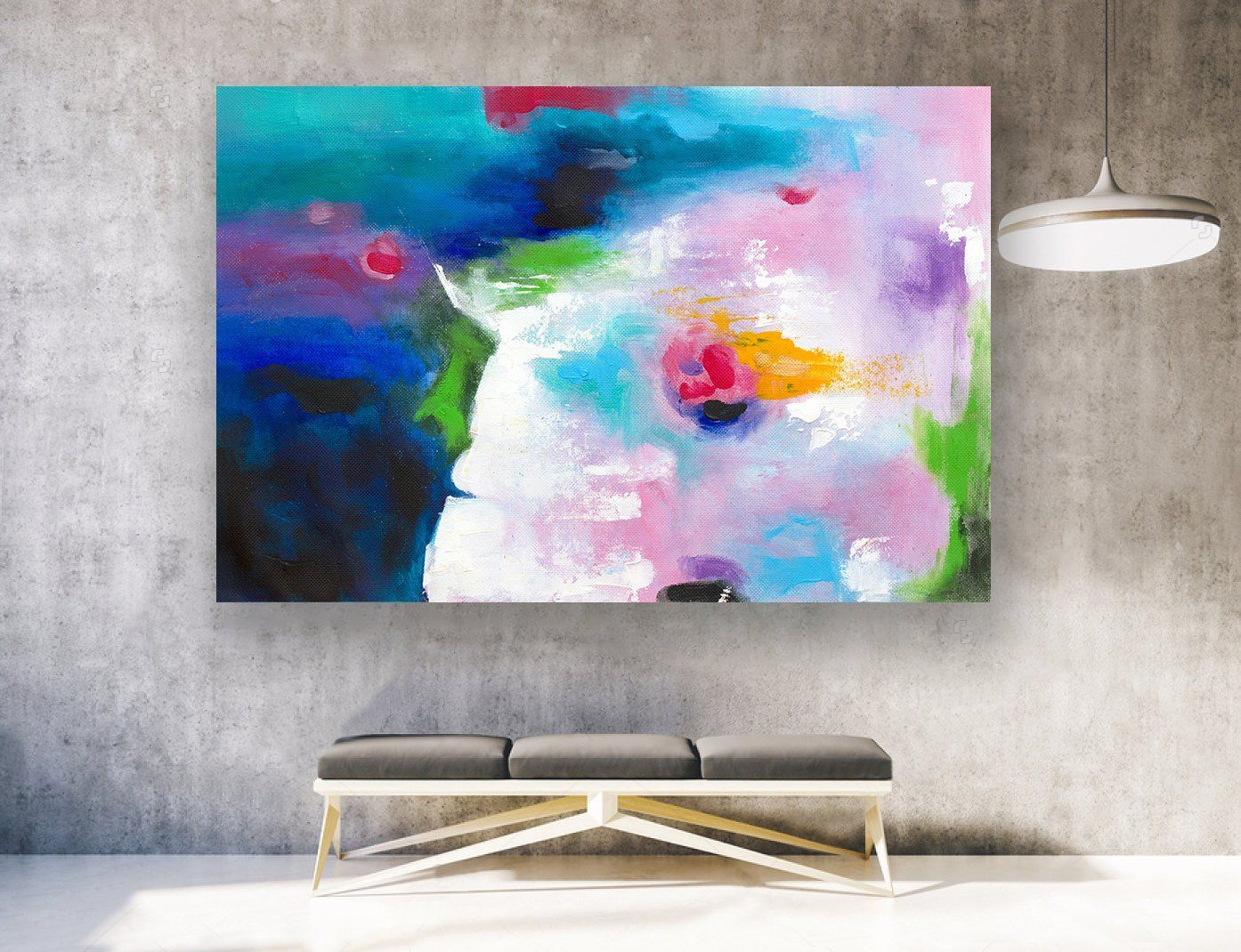 Abstract Painting Large Wall Art Paintings On Canvas Extra Large