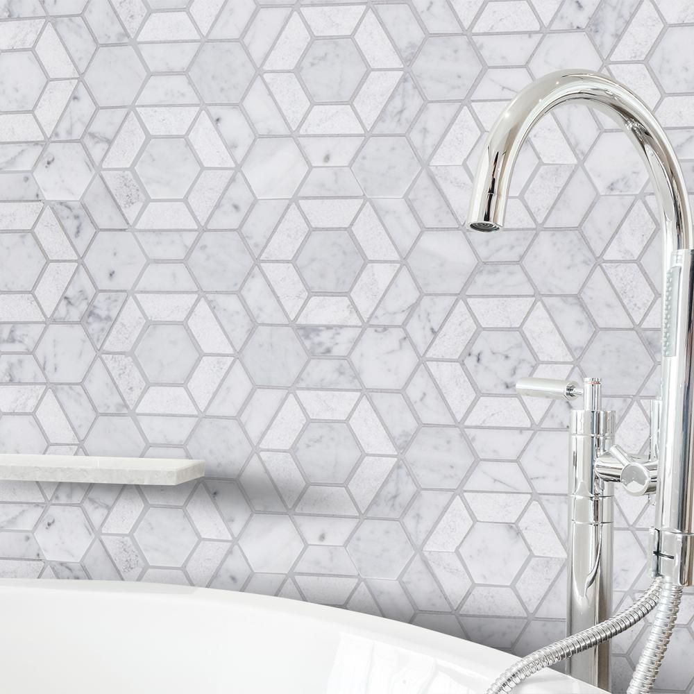 - Jeff Lewis Tile Collection At Home Depot Marble Mosaic Floor