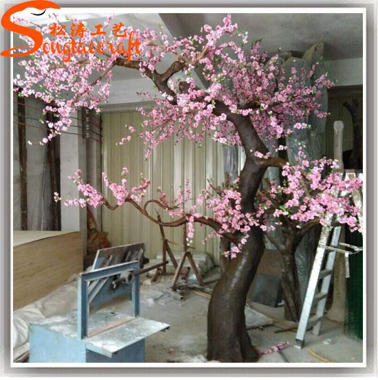 Source Artistic Craft Stylize Fake Tree Wedding Blossom Tree Ornaments On M Alibaba Artificial Cherry Blossom Tree Cherry Blossom Tree Wedding Tree Decorations