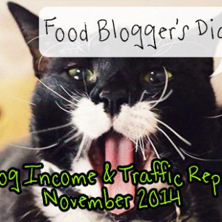 Food Blogger's Diary, October 2014: Tips, Strategies & Lessons Learnt in our Food Blogging Adventures!