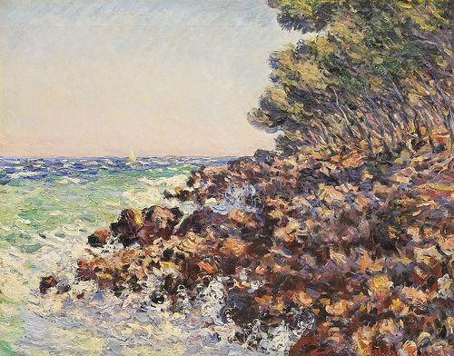 Le Cap Martin (C Monet - W 893), 1884, Musée des Beaux Arts, Tournai.