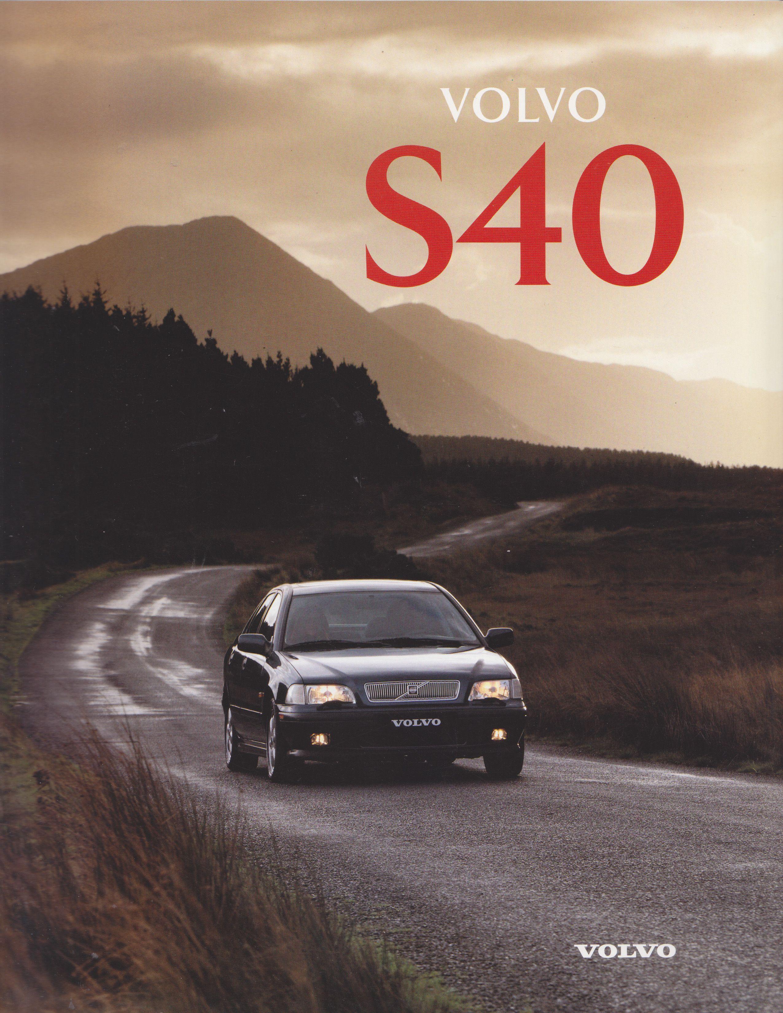Volvo S40 Sales Brochure 1996 Dutch