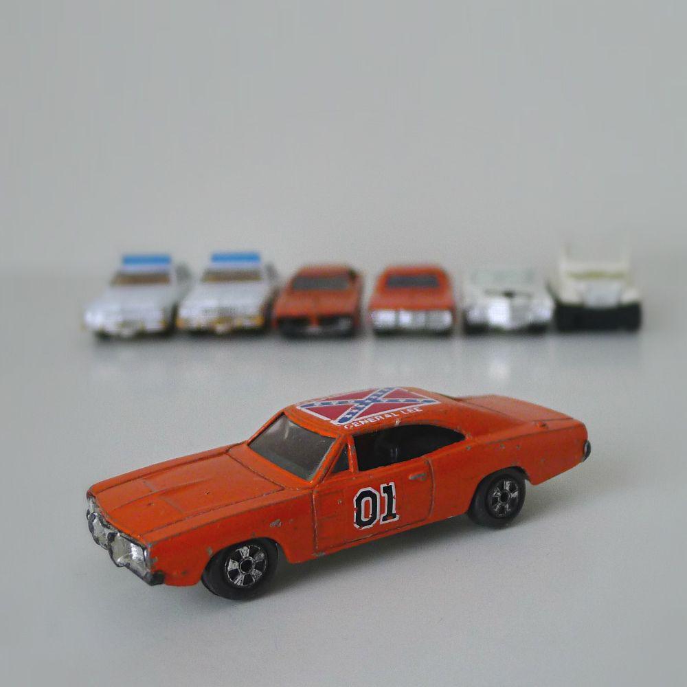 Dukes Of Hazzard Diecast Car Set, 1980's Ertl
