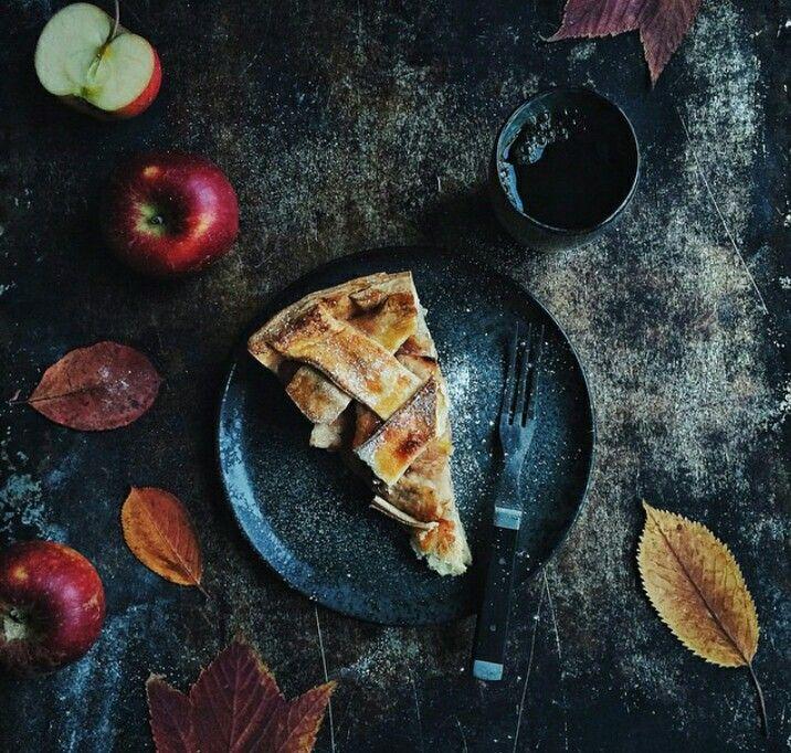 Apple Pie with Pastry Cream-Linda Lomelino.