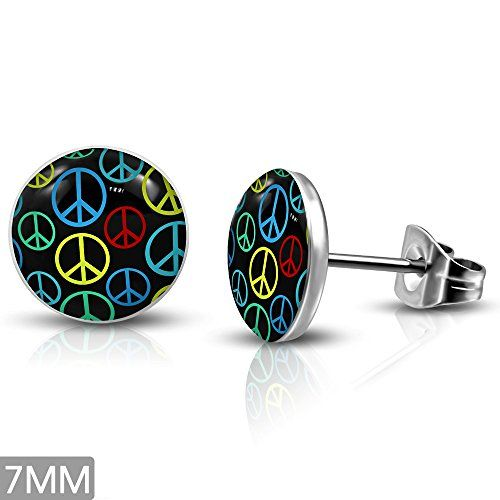 earrings listing m peace sign brighton poshmark stud