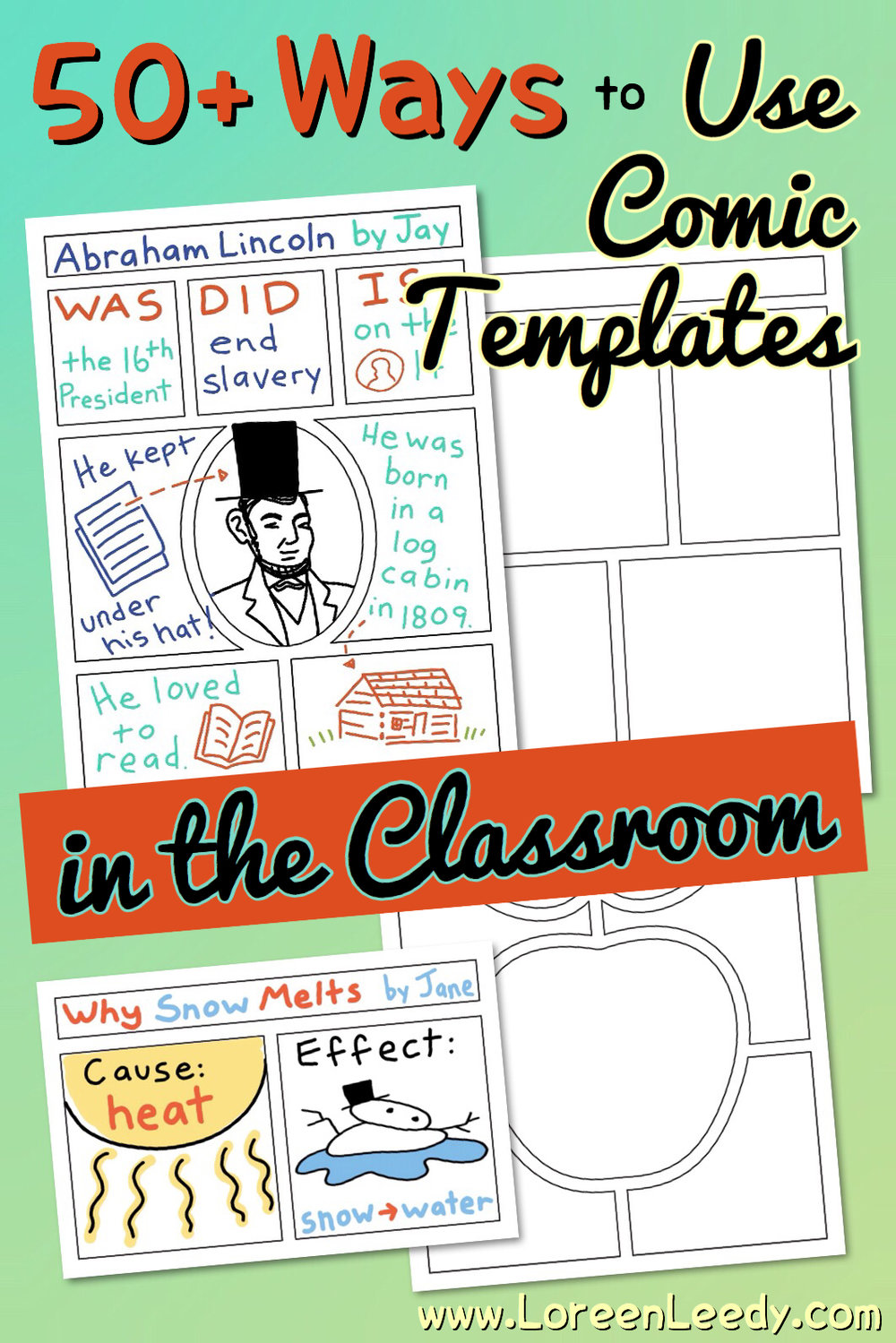50 ways to use comic templates in the classroom  comic