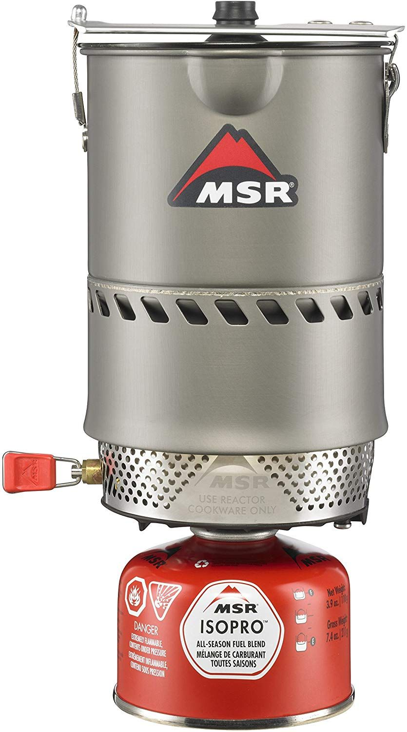 MSR Reactor Stove System Best camping stove, Solar