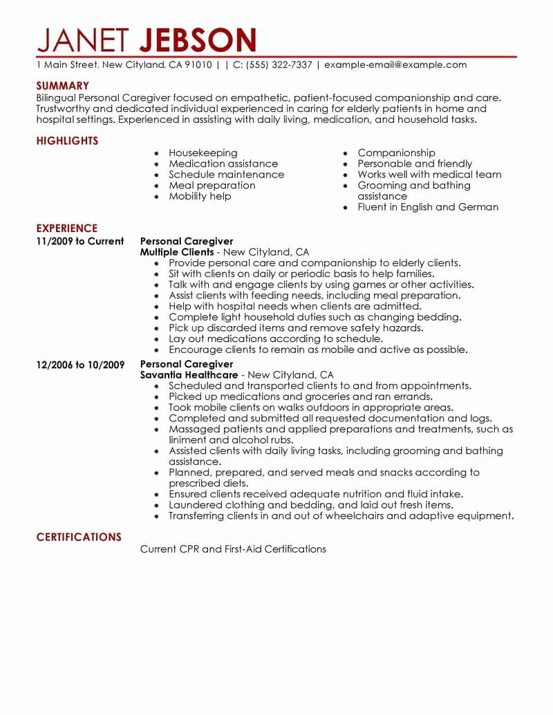 23 Personal assistant Resume Example in 2020 Resume