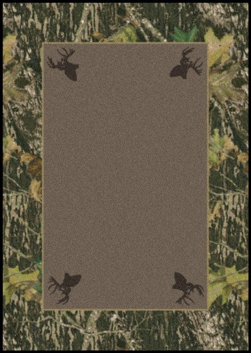 Gentil Mossy Oak Bathroom Rug!