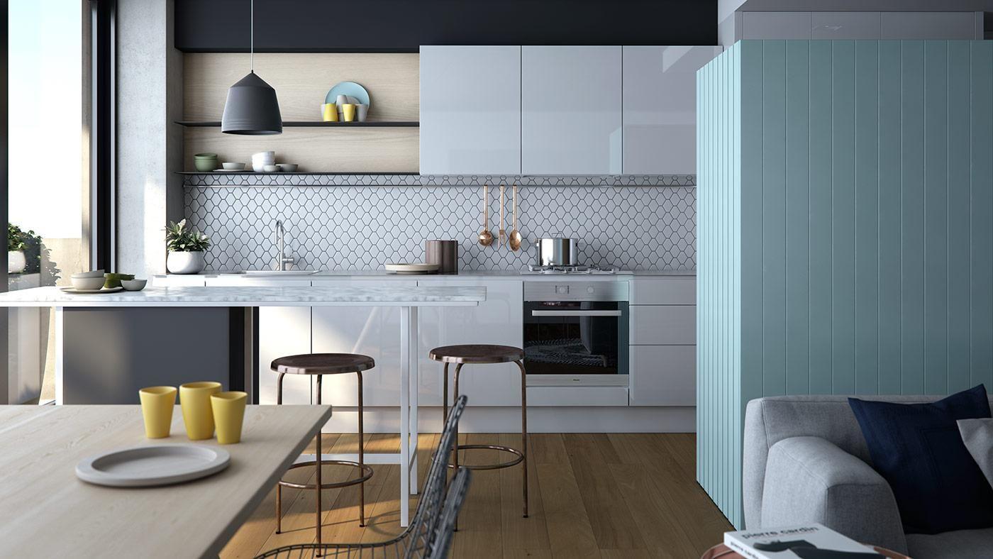 Nine Smith St, Fitzroy | Neometro | House: Kitchen | Pinterest ...