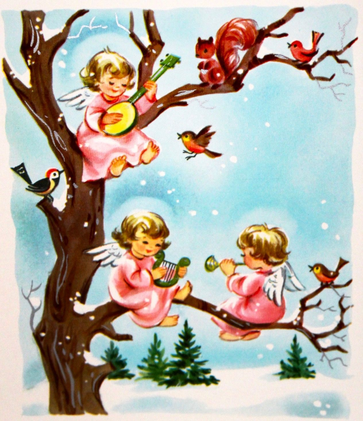 60's Christmas Angels