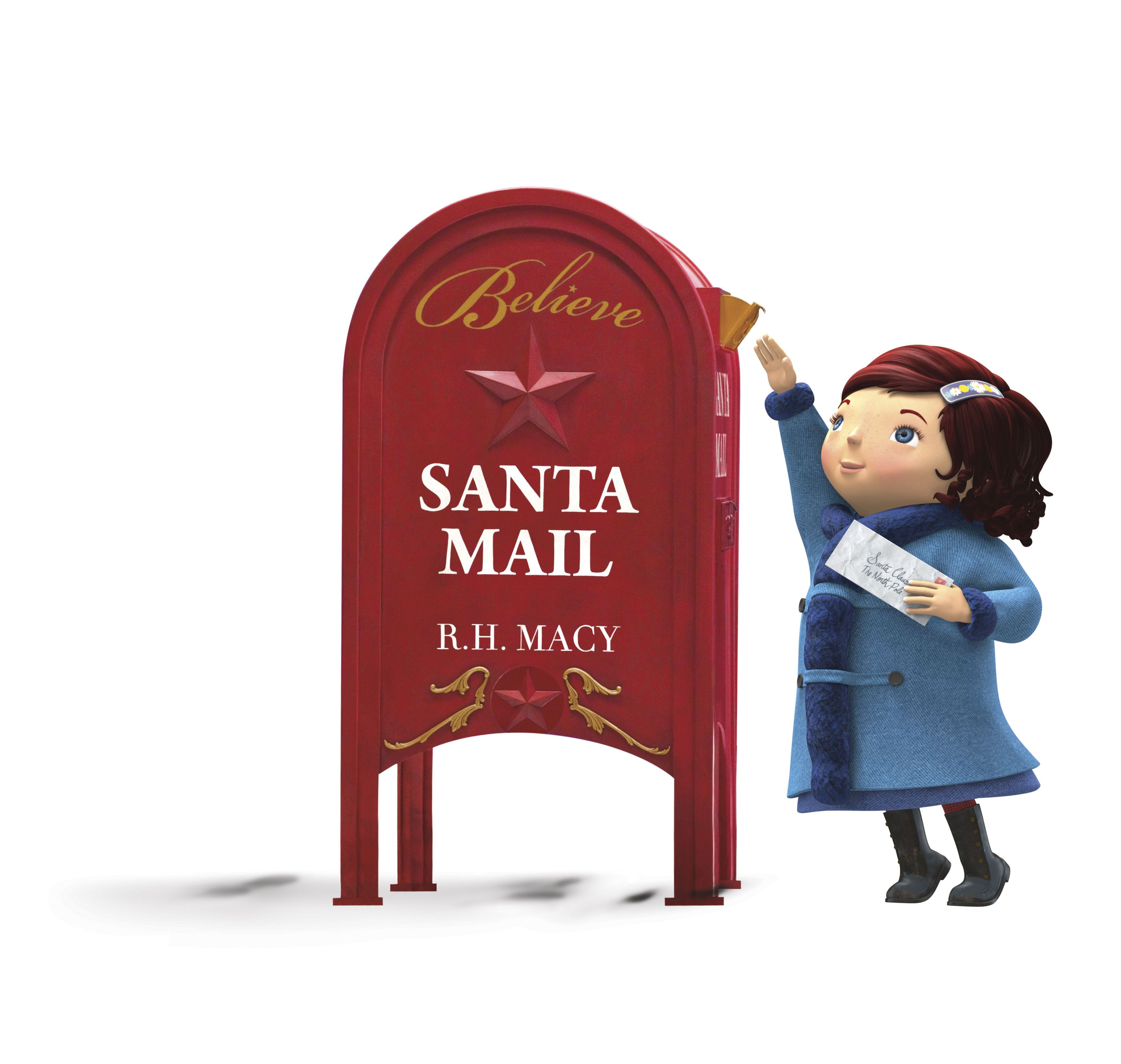Letters to Santa--Going to Macy's on Tuesday!