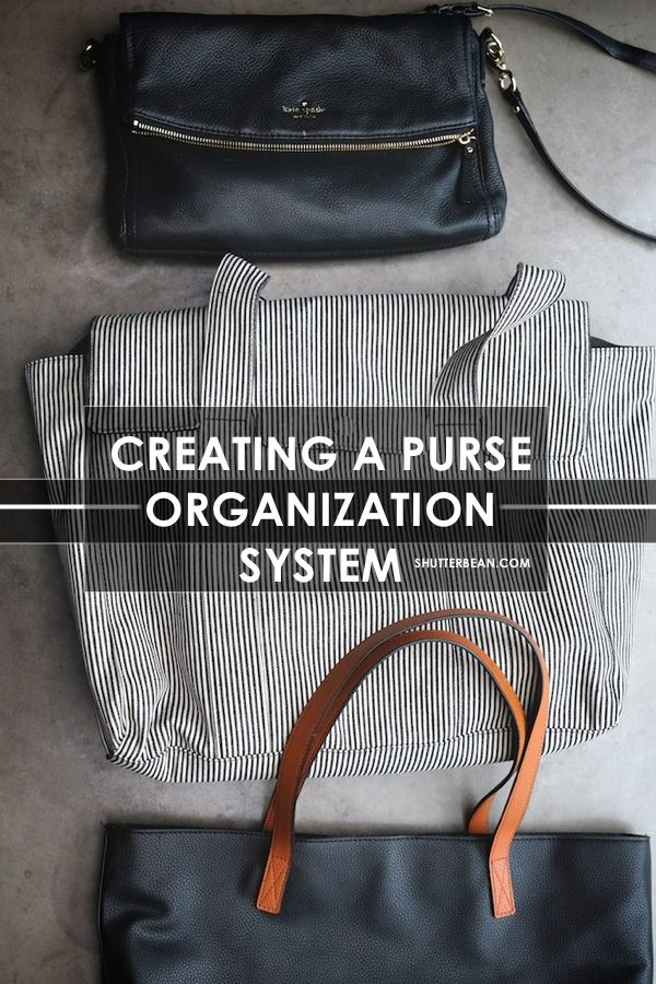 dee03eecc1 Feel like you can never keep your purse organized  This post is for YOU!  Check out a new way of thinking about organizing your purses so you don t  have to ...