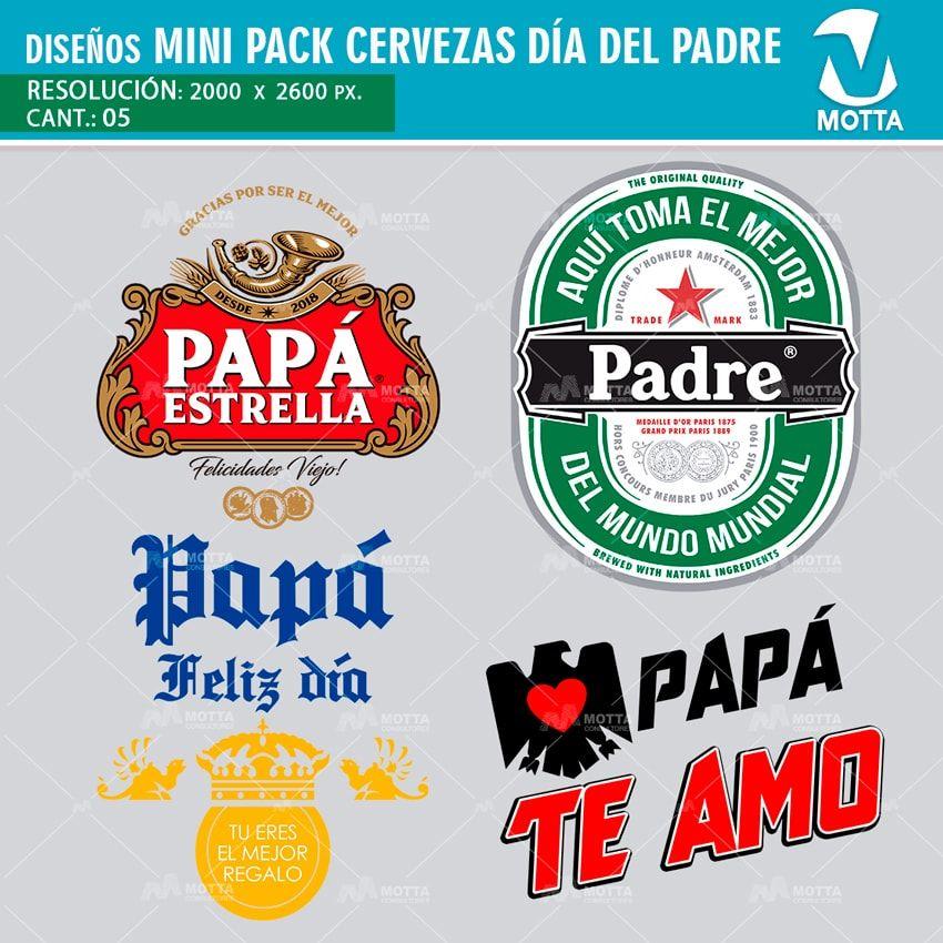 Plantillas Para Tazas Y Camisetas Cervezas Dia Del Padre
