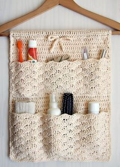Photo of Bathroom Organizer Häkelanleitung von Accessorise
