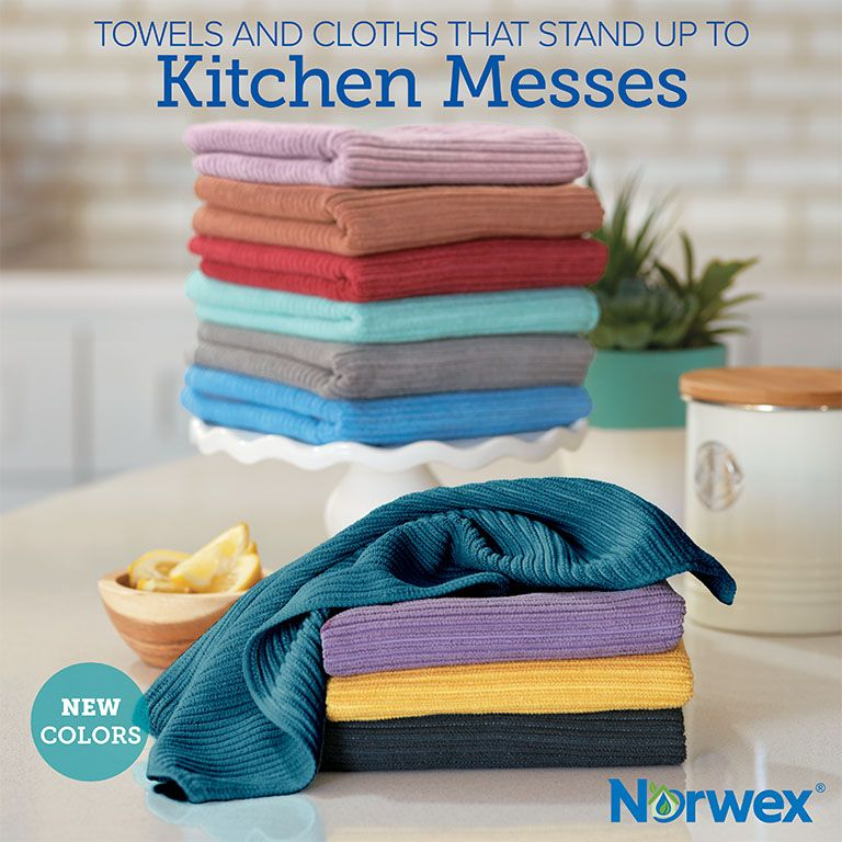 Norwex New Kitchen Towel Colours