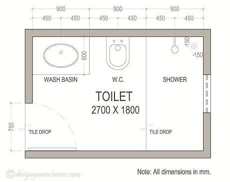 Sample Floor Plan Drawings Small Bathroom Layout Bathroom